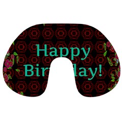 Happy Birthday To You! Travel Neck Pillows by Amaryn4rt