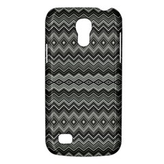 Greyscale Zig Zag Galaxy S4 Mini by Amaryn4rt