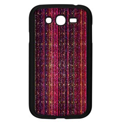 Colorful And Glowing Pixelated Pixel Pattern Samsung Galaxy Grand Duos I9082 Case (black) by Amaryn4rt
