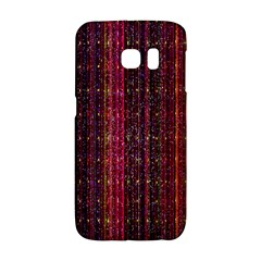 Colorful And Glowing Pixelated Pixel Pattern Galaxy S6 Edge by Amaryn4rt