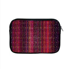 Colorful And Glowing Pixelated Pixel Pattern Apple Macbook Pro 15  Zipper Case by Amaryn4rt
