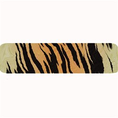 Tiger Animal Print A Completely Seamless Tile Able Background Design Pattern Large Bar Mats by Amaryn4rt