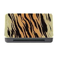 Tiger Animal Print A Completely Seamless Tile Able Background Design Pattern Memory Card Reader With Cf by Amaryn4rt