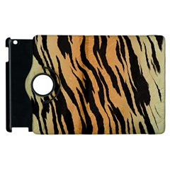 Tiger Animal Print A Completely Seamless Tile Able Background Design Pattern Apple Ipad 3/4 Flip 360 Case by Amaryn4rt