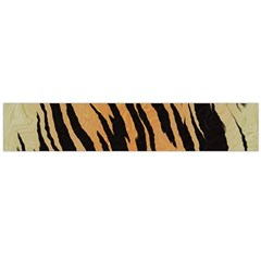 Tiger Animal Print A Completely Seamless Tile Able Background Design Pattern Flano Scarf (large) by Amaryn4rt