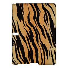 Tiger Animal Print A Completely Seamless Tile Able Background Design Pattern Samsung Galaxy Tab S (10 5 ) Hardshell Case  by Amaryn4rt