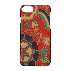 Vintage Chinese Brocade Apple Iphone 7 Hardshell Case by Amaryn4rt