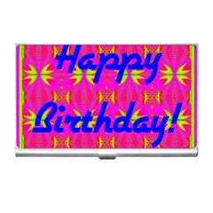 Happy Birthday! Business Card Holders
