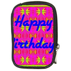 Happy Birthday! Compact Camera Cases by Amaryn4rt
