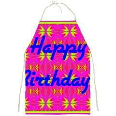 Happy Birthday! Full Print Aprons by Amaryn4rt