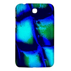 Blue Scales Pattern Background Samsung Galaxy Tab 3 (7 ) P3200 Hardshell Case  by Amaryn4rt