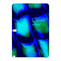 Blue Scales Pattern Background Samsung Galaxy Tab Pro 12 2 Hardshell Case by Amaryn4rt