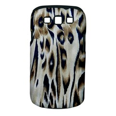 Tiger Background Fabric Animal Motifs Samsung Galaxy S Iii Classic Hardshell Case (pc+silicone) by Amaryn4rt