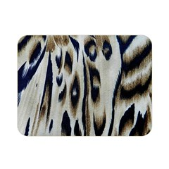 Tiger Background Fabric Animal Motifs Double Sided Flano Blanket (mini)  by Amaryn4rt