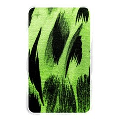 Green Tiger Background Fabric Animal Motifs Memory Card Reader