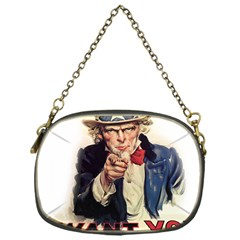 Uncle Sam Chain Purses (one Side)  by Valentinaart