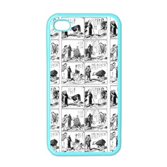 Old Comic Strip Apple Iphone 4 Case (color) by Valentinaart
