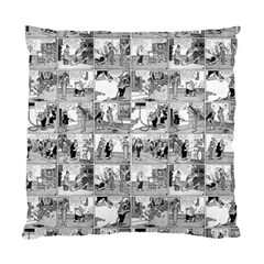 Old Comic Strip Standard Cushion Case (one Side) by Valentinaart