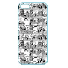 Old Comic Strip Apple Seamless Iphone 5 Case (color) by Valentinaart