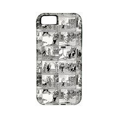 Old Comic Strip Apple Iphone 5 Classic Hardshell Case (pc+silicone) by Valentinaart