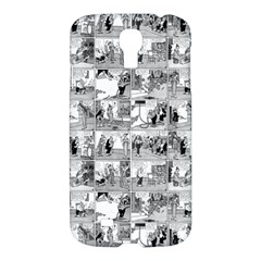 Old Comic Strip Samsung Galaxy S4 I9500/i9505 Hardshell Case by Valentinaart