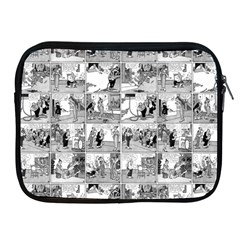 Old Comic Strip Apple Ipad 2/3/4 Zipper Cases by Valentinaart