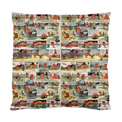 Old Comic Strip Standard Cushion Case (two Sides) by Valentinaart