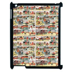 Old Comic Strip Apple Ipad 2 Case (black) by Valentinaart