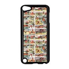 Old Comic Strip Apple Ipod Touch 5 Case (black) by Valentinaart