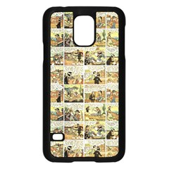 Old Comic Strip Samsung Galaxy S5 Case (black) by Valentinaart