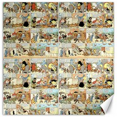 Old Comic Strip Canvas 12  X 12   by Valentinaart