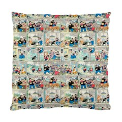 Old Comic Strip Standard Cushion Case (one Side)