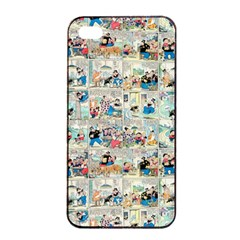 Old Comic Strip Apple Iphone 4/4s Seamless Case (black) by Valentinaart