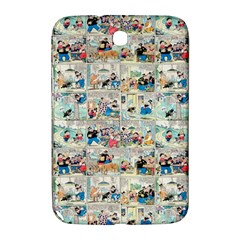 Old Comic Strip Samsung Galaxy Note 8 0 N5100 Hardshell Case