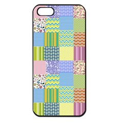 Old Quilt Apple Iphone 5 Seamless Case (black)