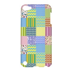 Old Quilt Apple Ipod Touch 5 Hardshell Case by Valentinaart