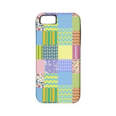 Old Quilt Apple Iphone 5 Classic Hardshell Case (pc+silicone)