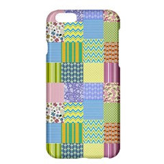 Old Quilt Apple Iphone 6 Plus/6s Plus Hardshell Case by Valentinaart