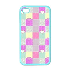 Old Quilt Apple Iphone 4 Case (color)
