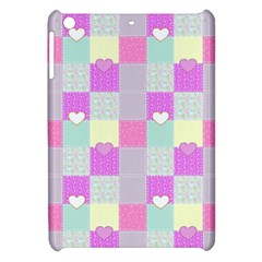 Old Quilt Apple Ipad Mini Hardshell Case by Valentinaart