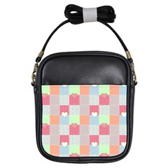 Patchwork Girls Sling Bags