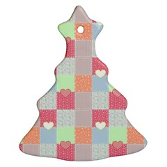 Patchwork Ornament (christmas Tree)