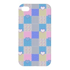Patchwork Apple Iphone 4/4s Hardshell Case by Valentinaart
