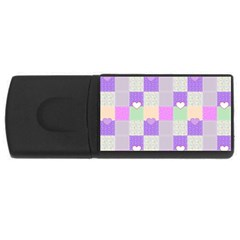 Patchwork Usb Flash Drive Rectangular (4 Gb) by Valentinaart