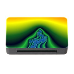 Fractal Wallpaper Water And Fire Memory Card Reader With Cf by Amaryn4rt
