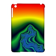 Fractal Wallpaper Water And Fire Apple Ipad Mini Hardshell Case (compatible With Smart Cover) by Amaryn4rt
