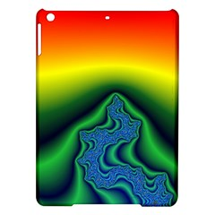 Fractal Wallpaper Water And Fire Ipad Air Hardshell Cases by Amaryn4rt