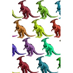 Multicolor Dinosaur Background 5 5  X 8 5  Notebooks by Amaryn4rt
