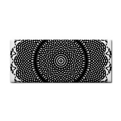 Black Lace Kaleidoscope On White Cosmetic Storage Cases by Amaryn4rt