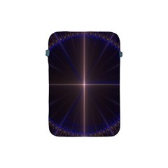 Color Fractal Symmetric Blue Circle Apple Ipad Mini Protective Soft Cases by Amaryn4rt
